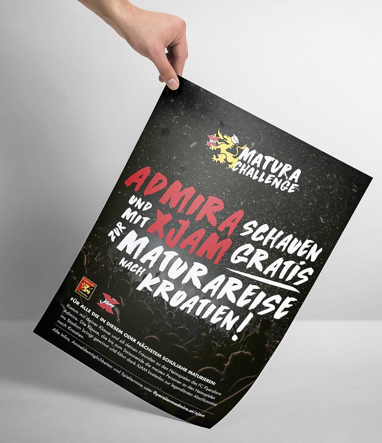 Flyeralarm-Admira-XJam-Poster
