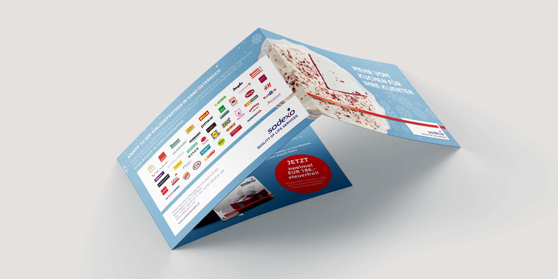 Sodexo-Geschenkpass-Mailing Steuerberater