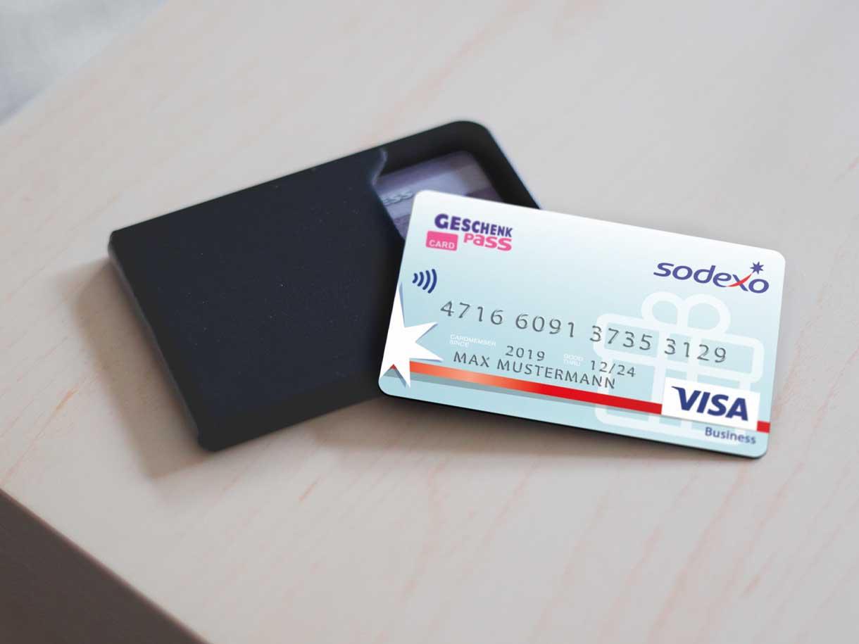 Sodexo GeschenkPass Card
