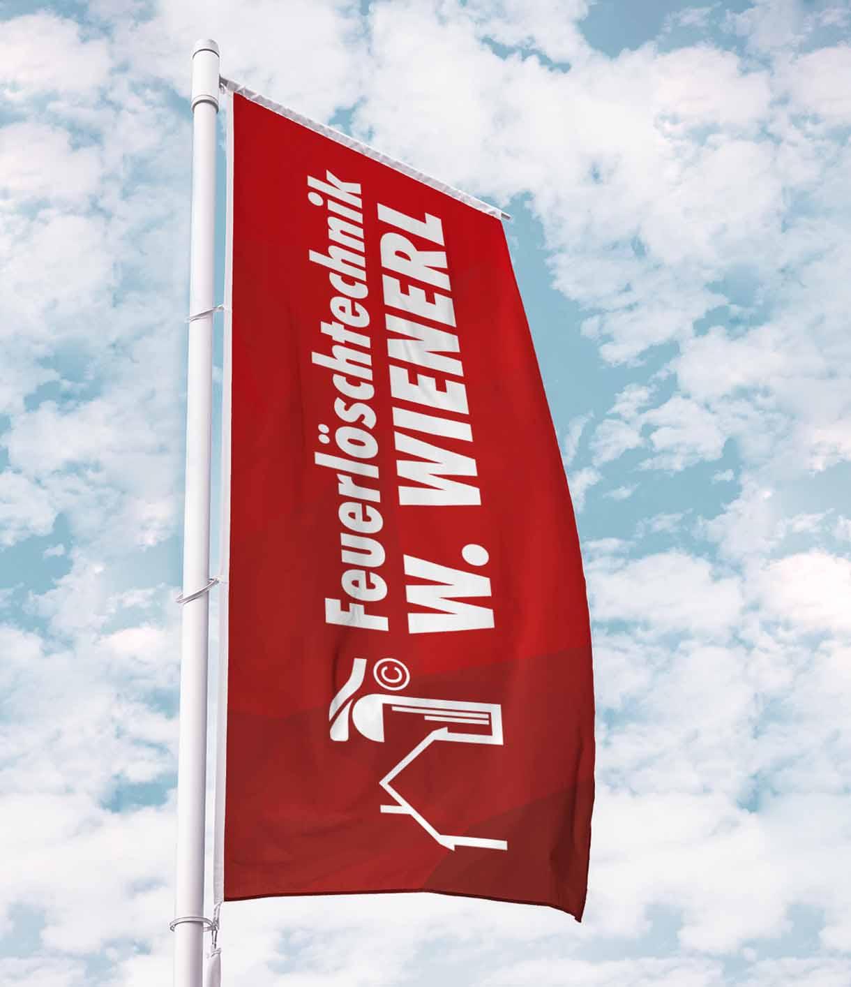 Wienerl-Feuerloeschtechnik-Flagge