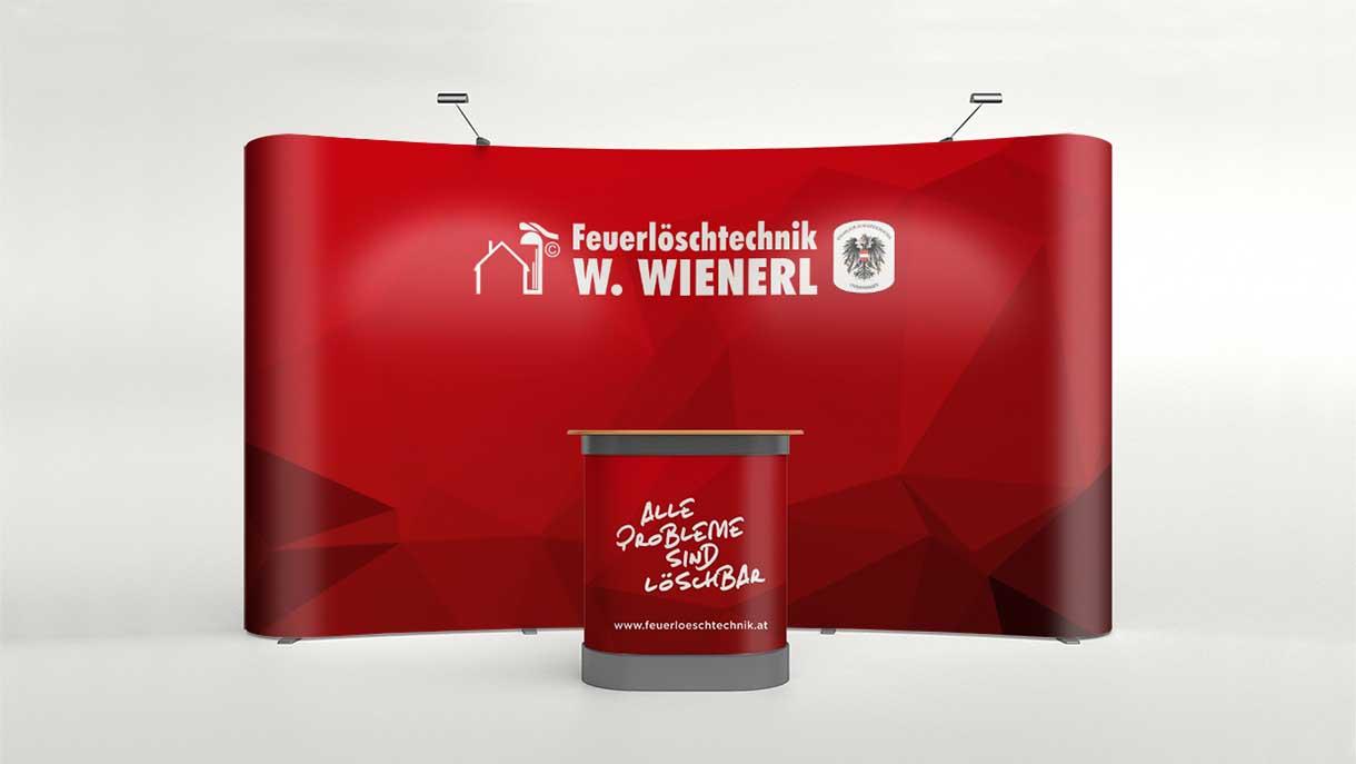 Wienerl Feuerloeschtechnik Messestand