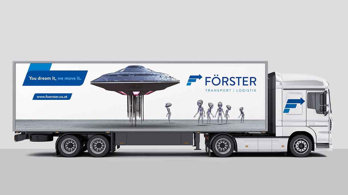 Aliens Förster Transporte LKW Truck