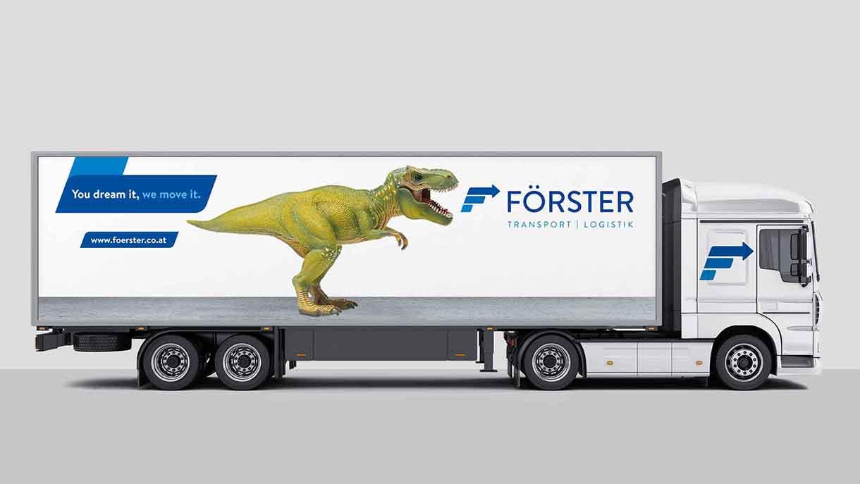 T-Rex Förster Transporte LKW Truck